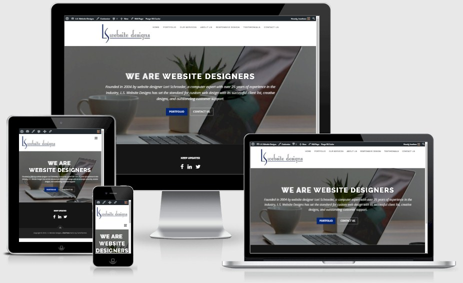 Responsive Website Design - L.S. Website Designs