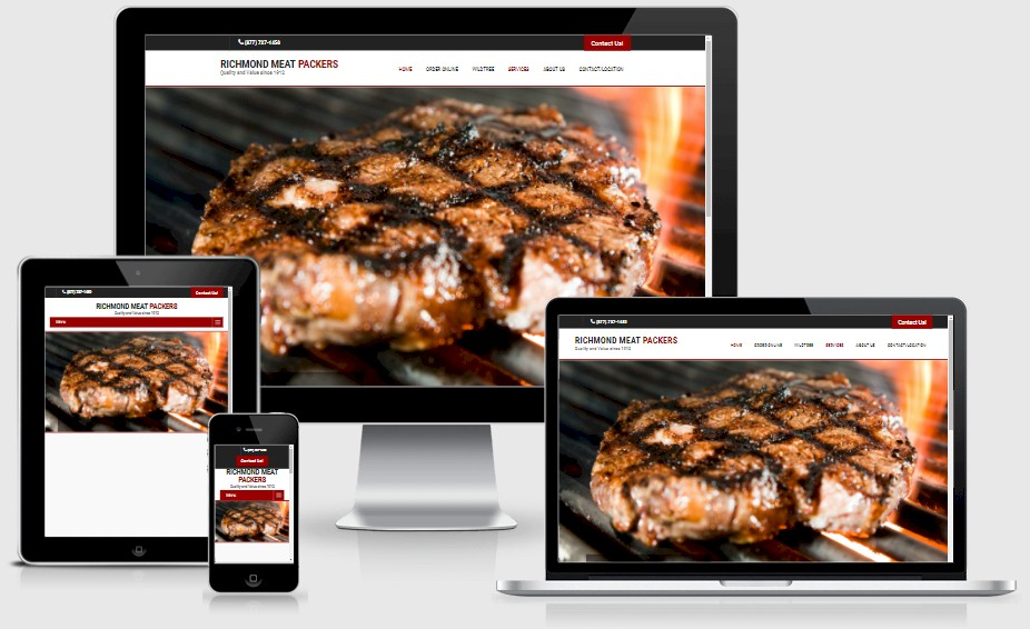 Richmond Meat Packers Website Design Portfolio