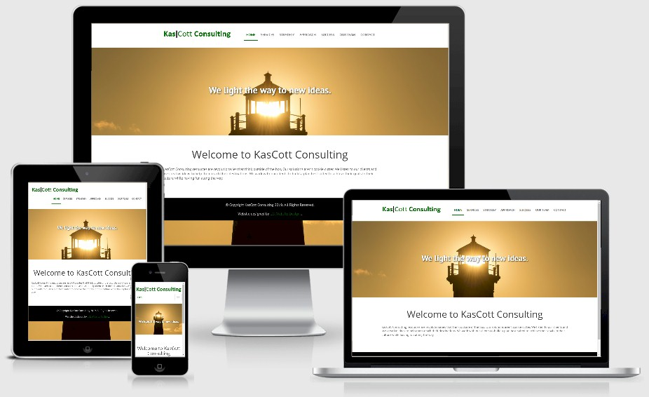 Kascott Consulting Website Design Portfolio